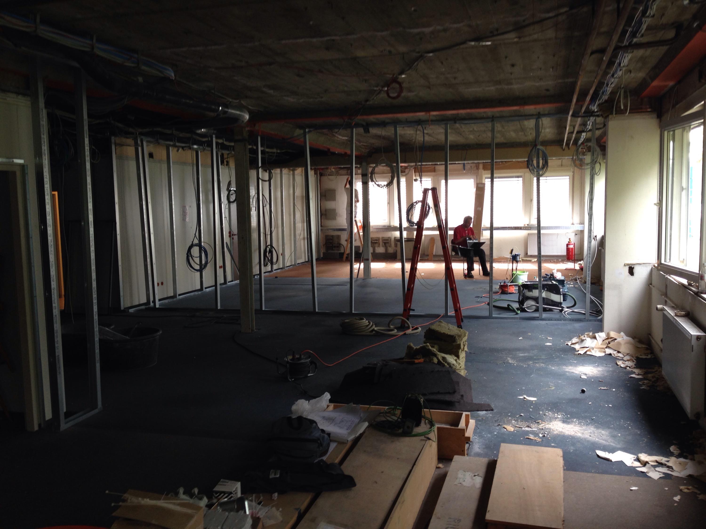 Neugestaltung eines Showroom und eines Konferenzraumes