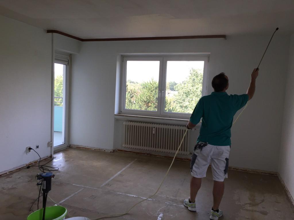 renovierung einer 4 zimmerwohnung in frankfurt malermeister andelkovic. Black Bedroom Furniture Sets. Home Design Ideas