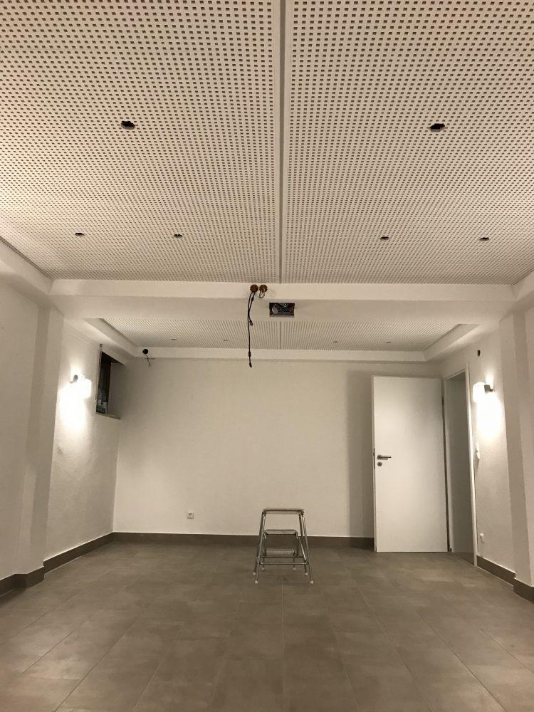 Knauf Cleaneo Akustikdecke.